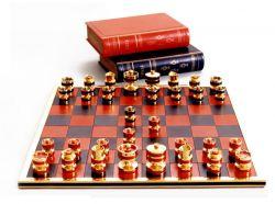 Silver Jubilee Schach Set von Geoffrey Parker