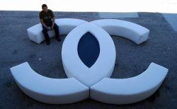 Einzigartiges Sofa von Chanel