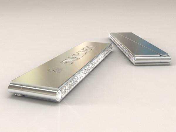 Swarovski Nagelfeile in Gold oder Platin