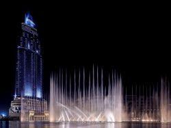 Dubai Fountain ist die teuerste Fontäne