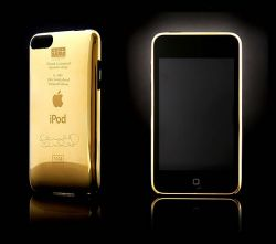 iPod Touch in Gold von Frank Lampard