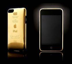 iPod Touch in Gold von Frank Lampard und Goldgenie
