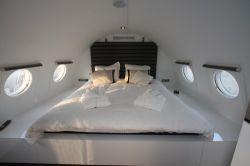 Luxus Hotel Suite im Flugzeug