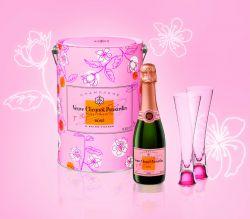Veuve Clicquot Rosé zum Valentinstag