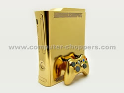 Xbox 360 in Gold von Computer-Choppers