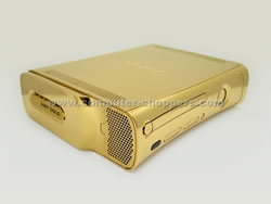 Xbox 360 in Gold von Computer-Choppers