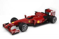 1:8 Modell Ferrari der Formel-1 Saison 2009