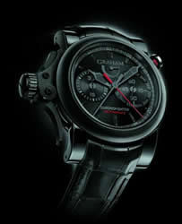 Graham Chronofighter Trigger Back in Black