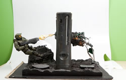 Microsoft zeigt Limited Edition Halo Xbox 360