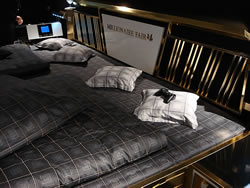 Das wohl teuerste Bett aus Gold