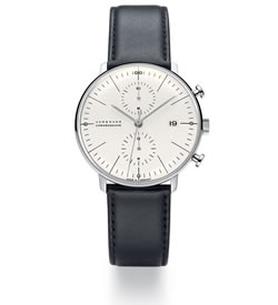 max bill by junghans Chronoscope Uhr