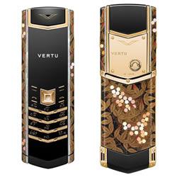 Vier Vertu Gold-Handys in Japan vorgestellt