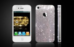 Apple iPhone 4 Cover mit Swarovski Kristallen von CrystalRoc