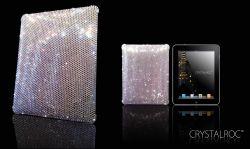 erstes iPad Cover mit Swarovski Kristallen