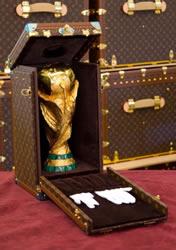Louis Vuitton FIFA WM-Pokal 2010 Reisekoffer