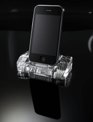 Kristall Dockingstation für iPhone und iPod von CalypsoCrystal