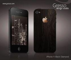 Gresso iPhone 4 Black Diamond