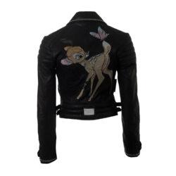 Philipp Plein Couture Lederjacke Bambi