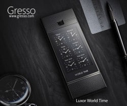 Gresso Luxor World Time