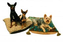 luxuriöses Hundekissen Urban Safari und Royal Baroque