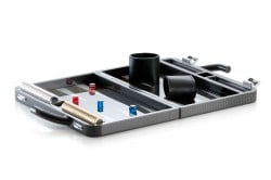 Vollcarbon Backgammon Koffer