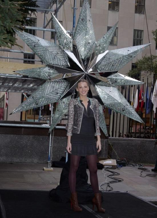 New york weihnachtsbaum stern