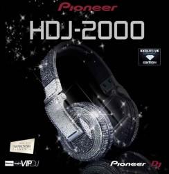 Pioneer Kopfhörer mit Swarovski Kirstallen