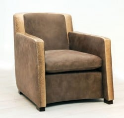 Sessel der Machalke Polsterwerkstätten aus Nanaileder