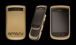 Alexander Amosu Blackberry Torch in Gold