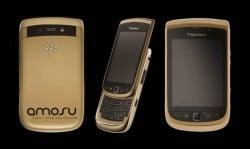 Alexander Amosu Blackberry Torch in Gold