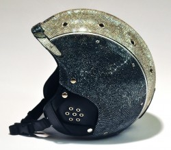 Crystograph Bogner Skihelm mit Swarovski Kristallen