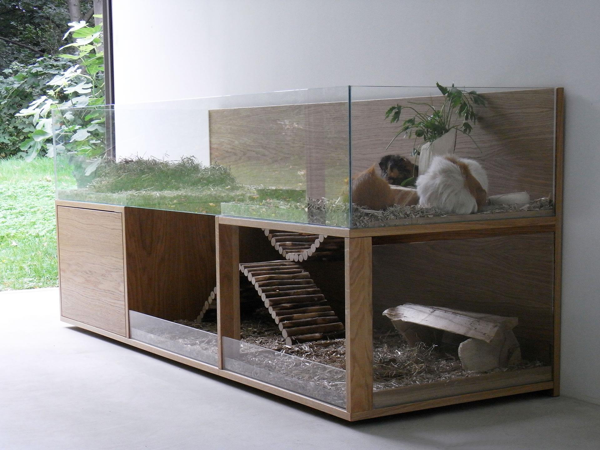 luxus f r das geliebte meerschweinchen. Black Bedroom Furniture Sets. Home Design Ideas