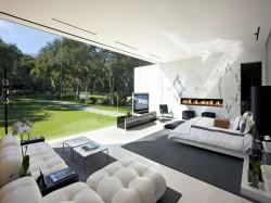Glashaus in Santa Barbara, Kalifornien