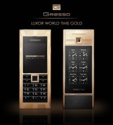 Gresso Luxor World Time Gold