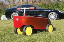 Woody-Cart - ein Rutschboot für Kinder