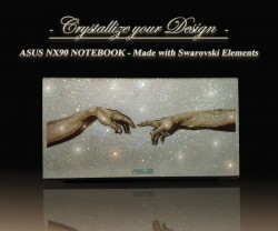 Asus NX90 Notebook mit Swarovski Elements