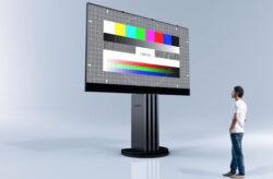 201 Zoll LED Fernseher von Porsche Design Studio