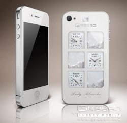 Gresso iPhone4 Lady Blanche