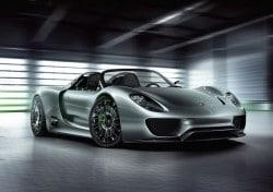 Der neuste Luxushybrid - Porsche 918 Spyder