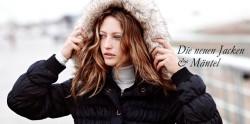 mit Mode von Esprit in den Winter