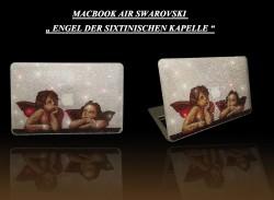 Macbook Air mit Engeln der Sixtinischen Kapelle