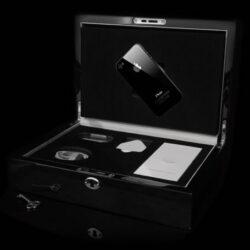 Goldgenie iPhone 4S mit 64GB und Platin Rand