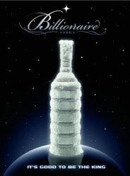 Billionaire Vodka von Leon Verres
