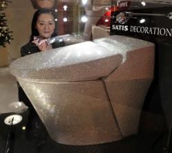 Ginza Tanaka Klo mit Swarovski Kristallen