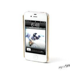 iPhone 4 Cover aus Gold von Miansai