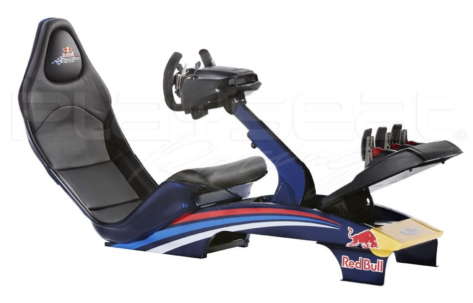 simulator sitz von playseat und red bull racing. Black Bedroom Furniture Sets. Home Design Ideas