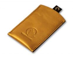 Wolfsrudel GOLD iPhone Hülle aus 24 Karat Gold