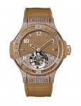 Hublot Tutti Frutti Tourbillon Pave for Ladies Camelbraun