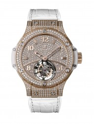 Hublot Tutti Frutti Tourbillon Pave for Ladies Schneeweiss