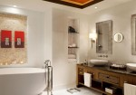 St. Regis Saadiyat Island in Abu Dhabi - Suite Bathroom